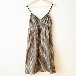 Converse One Star gray striped dress sleeveless